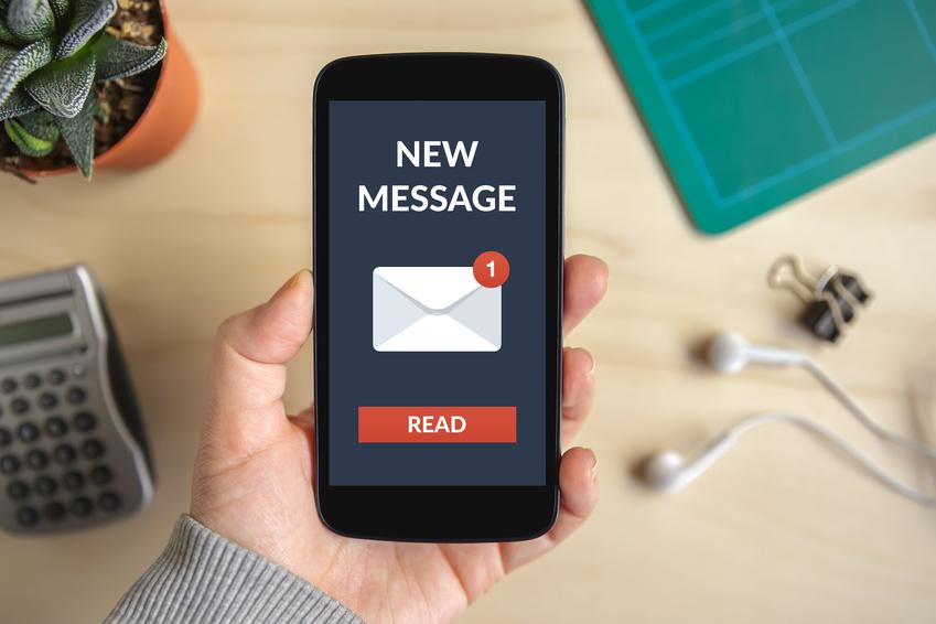 La notification SMS pour notaires -J2S